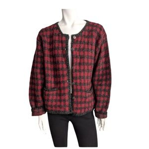 Vintage Woolrich wool cardigan sweater
